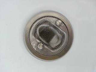 Abfluss Sieb Dusche eingebaut